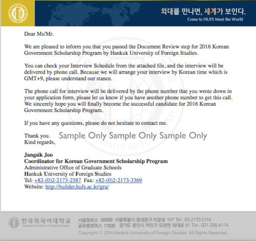 Korean Government Scholarship Program (KGSP) – Ponika's Random Thoughts